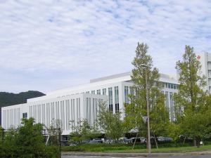 徳島赤十字病院施工1